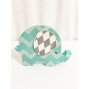 👑 BABY KIDS DECOR | blue baby elephant